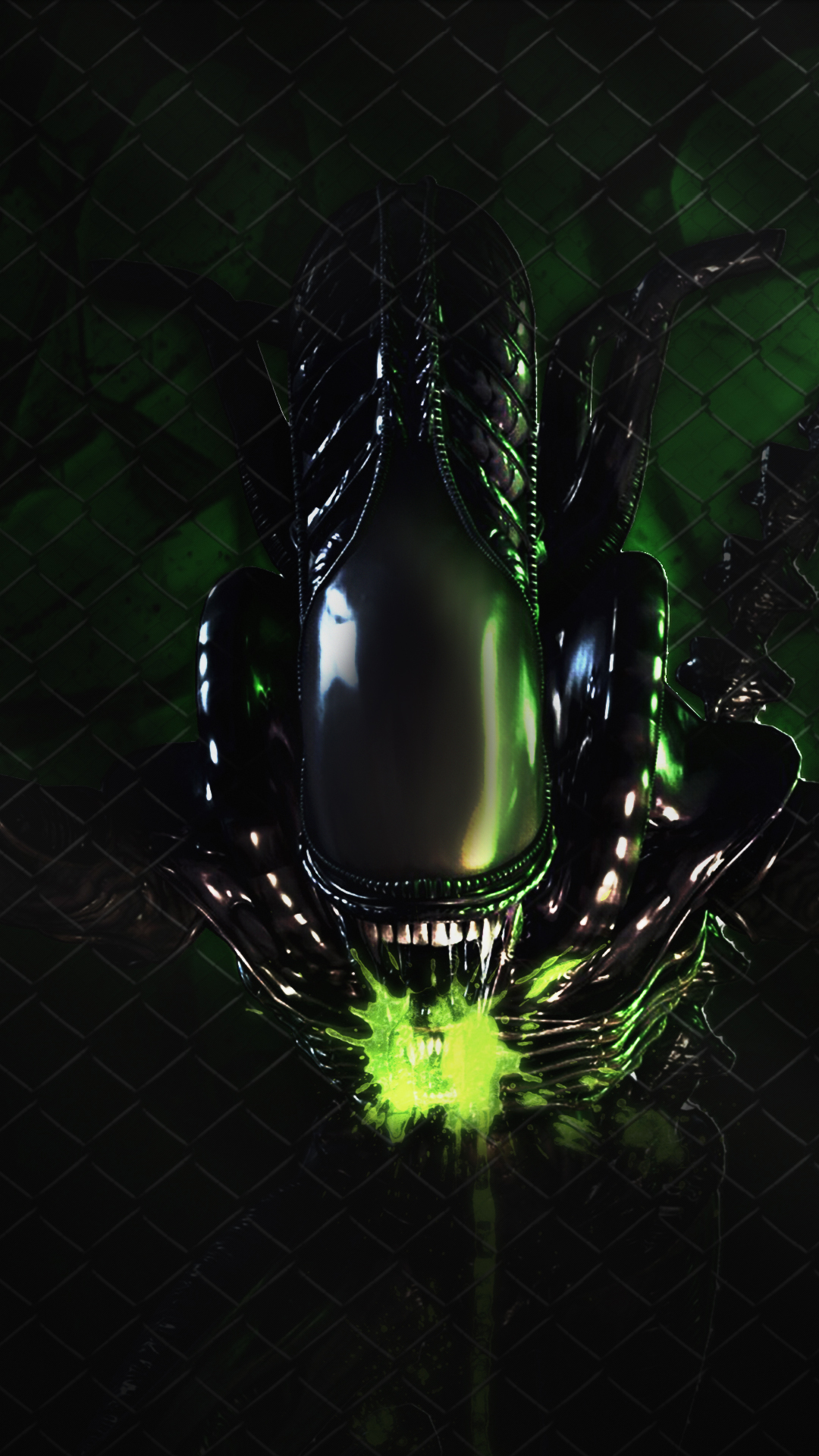 Free HD Alien Phone Wallpaper6638