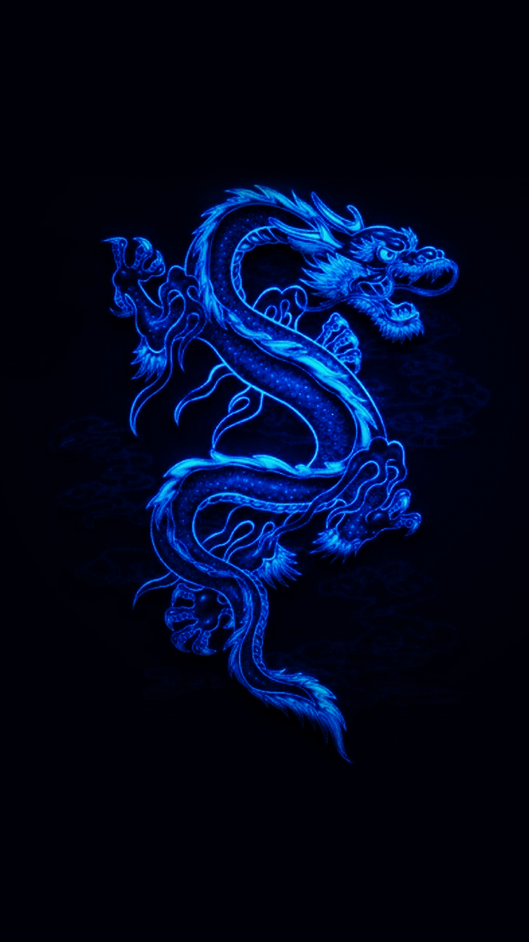 Free Hd Blue Dragon 2 Phone Wallpaper 5547