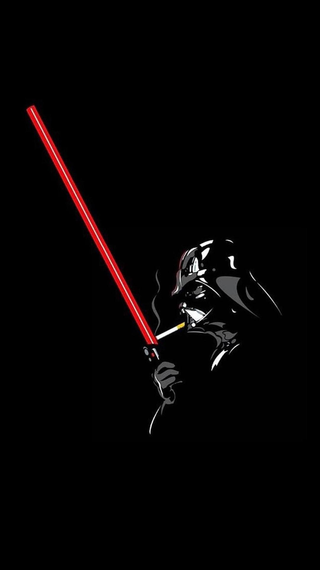 Darth Vader Smoking Phone Wallpaper