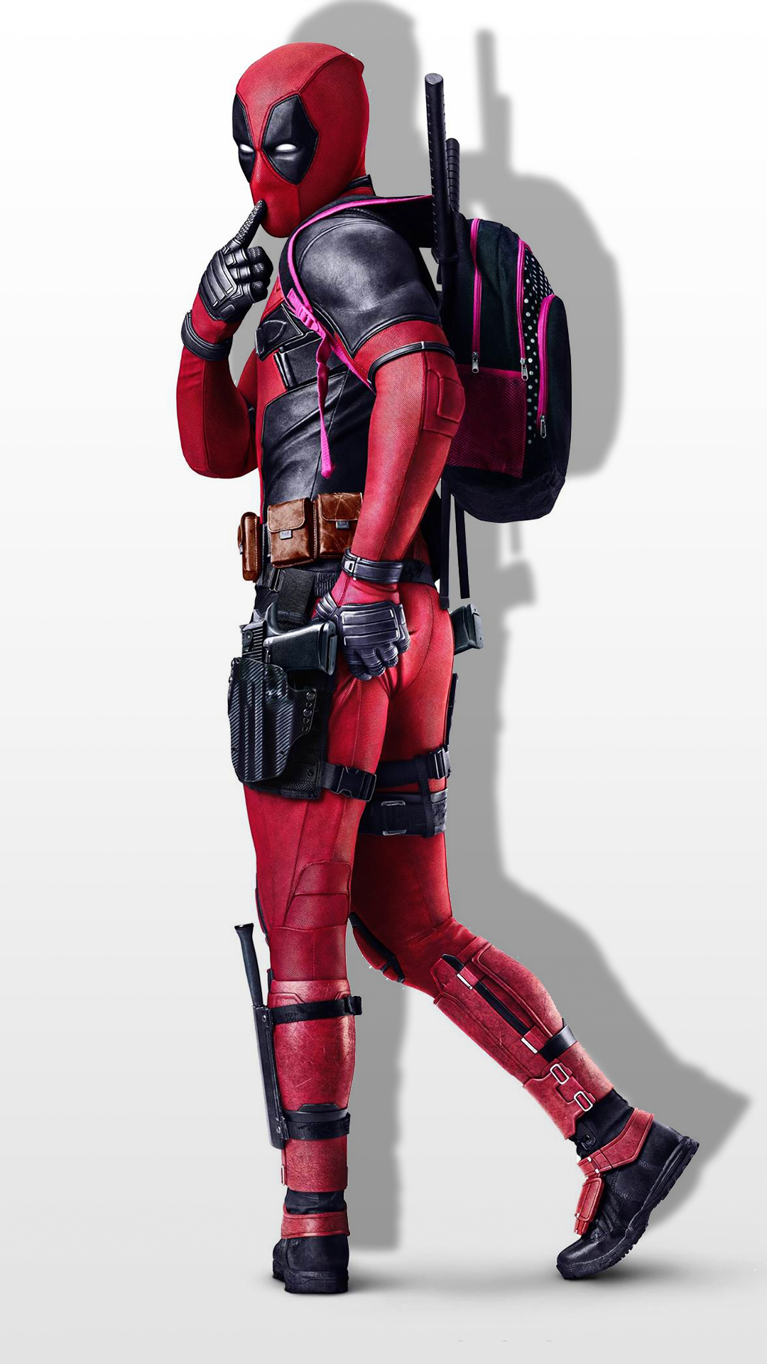 Free Hd Deadpool Sexy Phone Wallpaper 1036