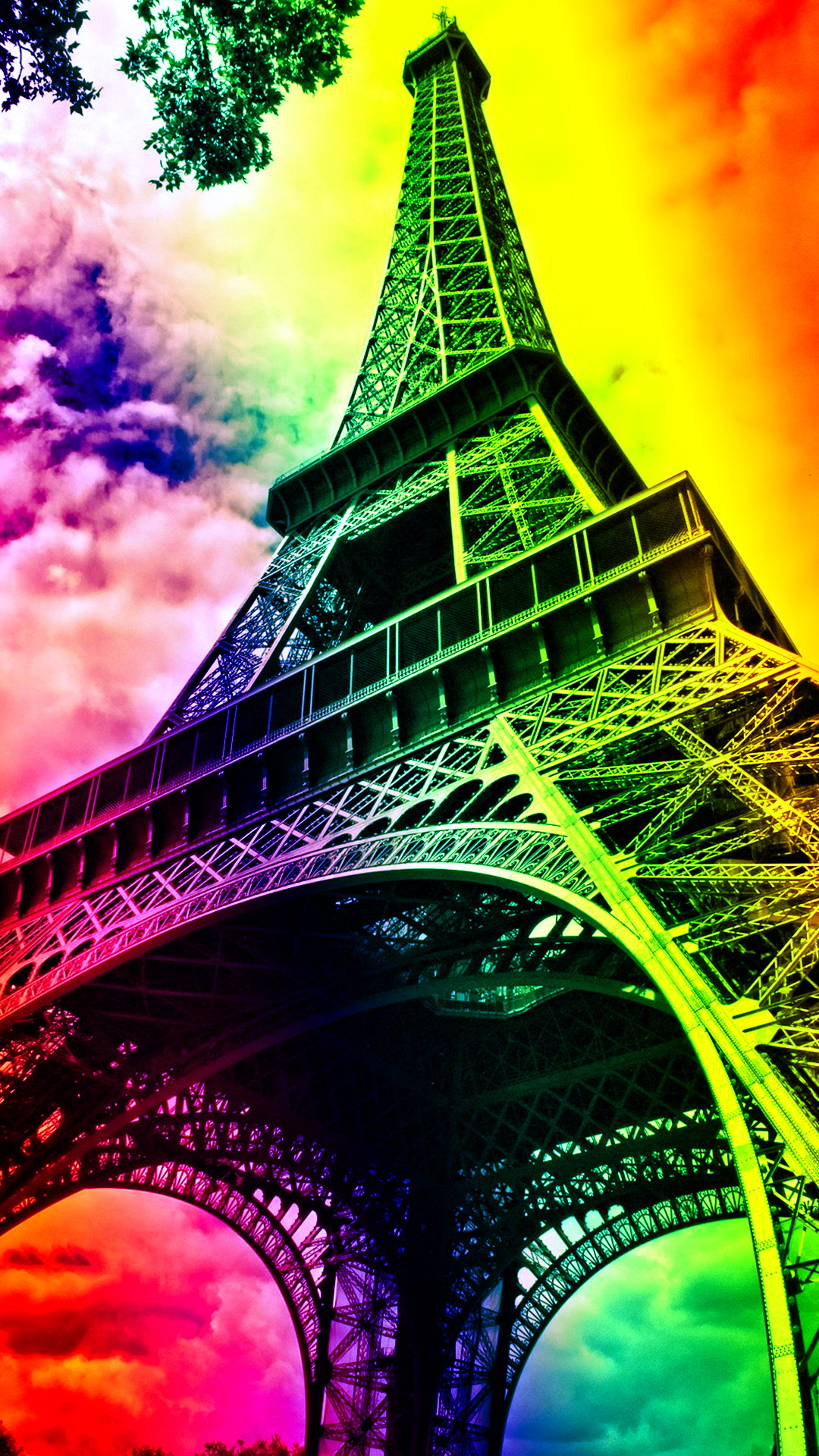 Eiffel Tower Phone Wallpaper