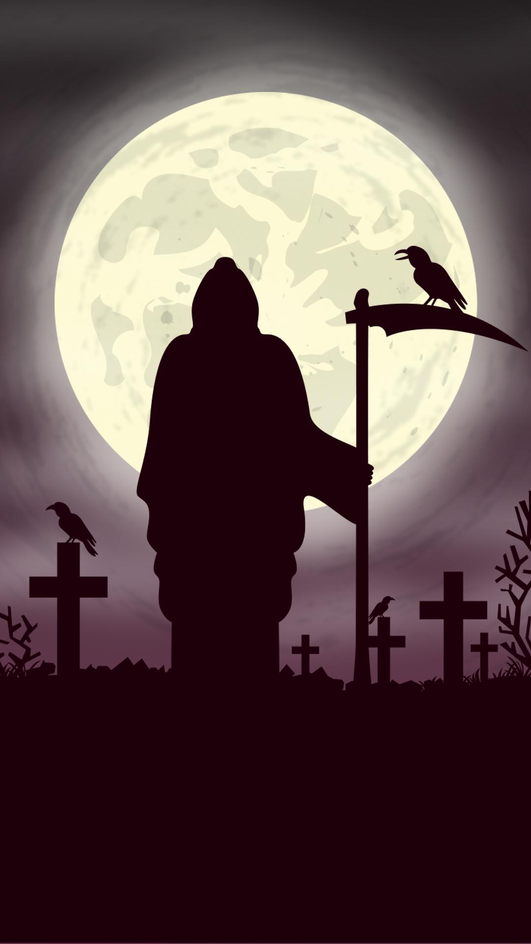 Grim Reaper Phone Wallpaper