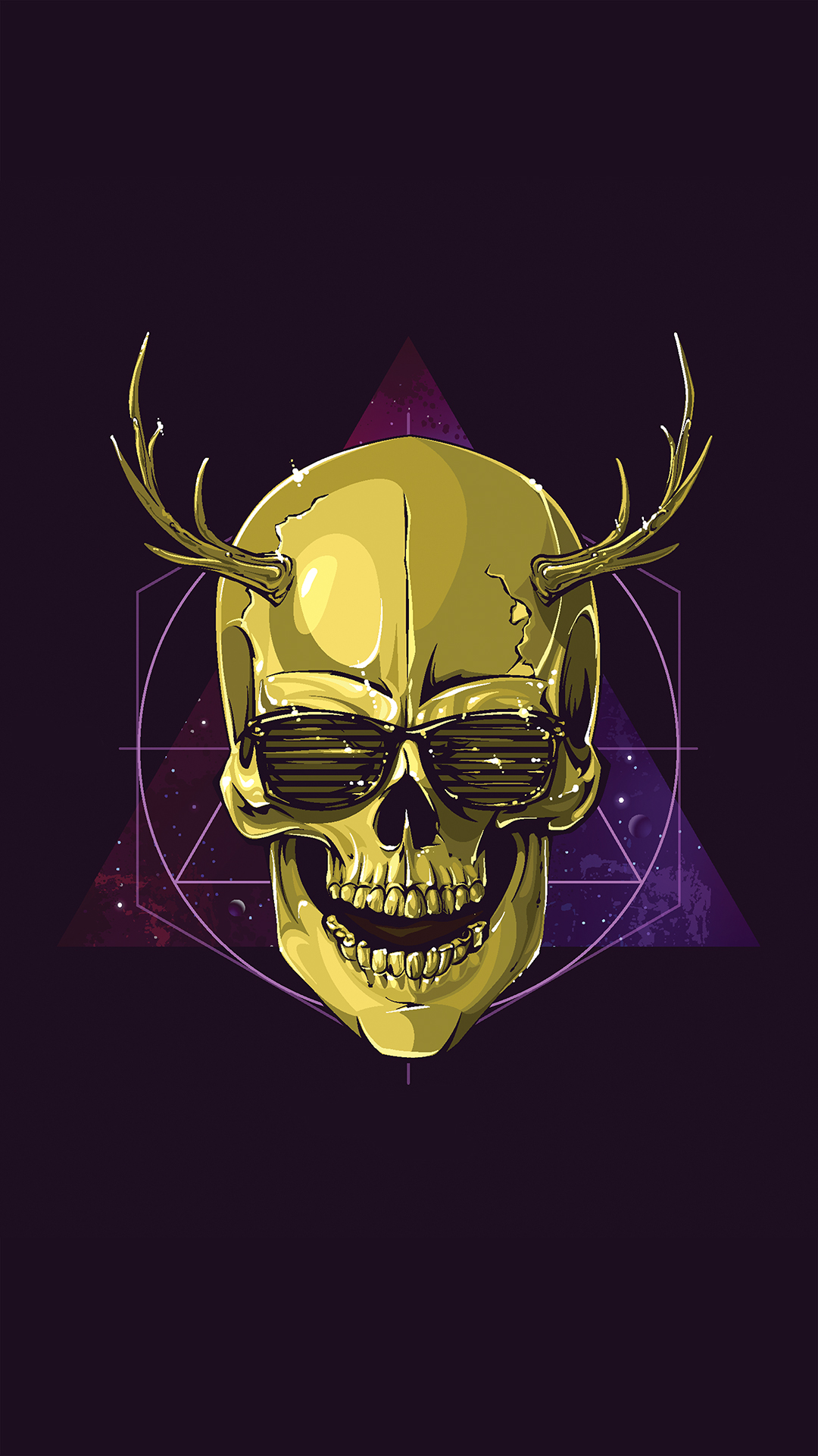 free hd hipster skull phone wallpaper1985