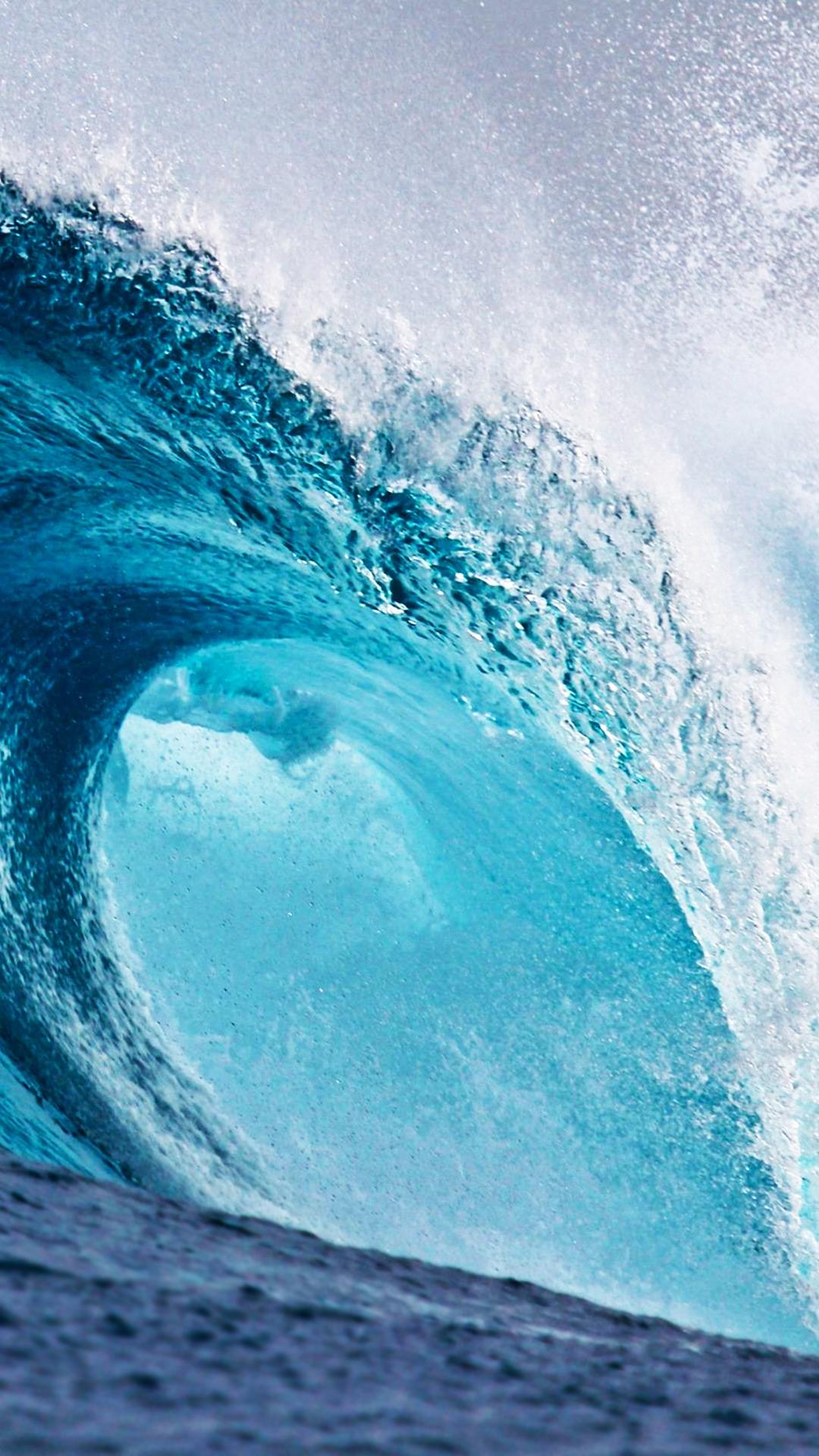 free hd huge wave phone wallpaper6698