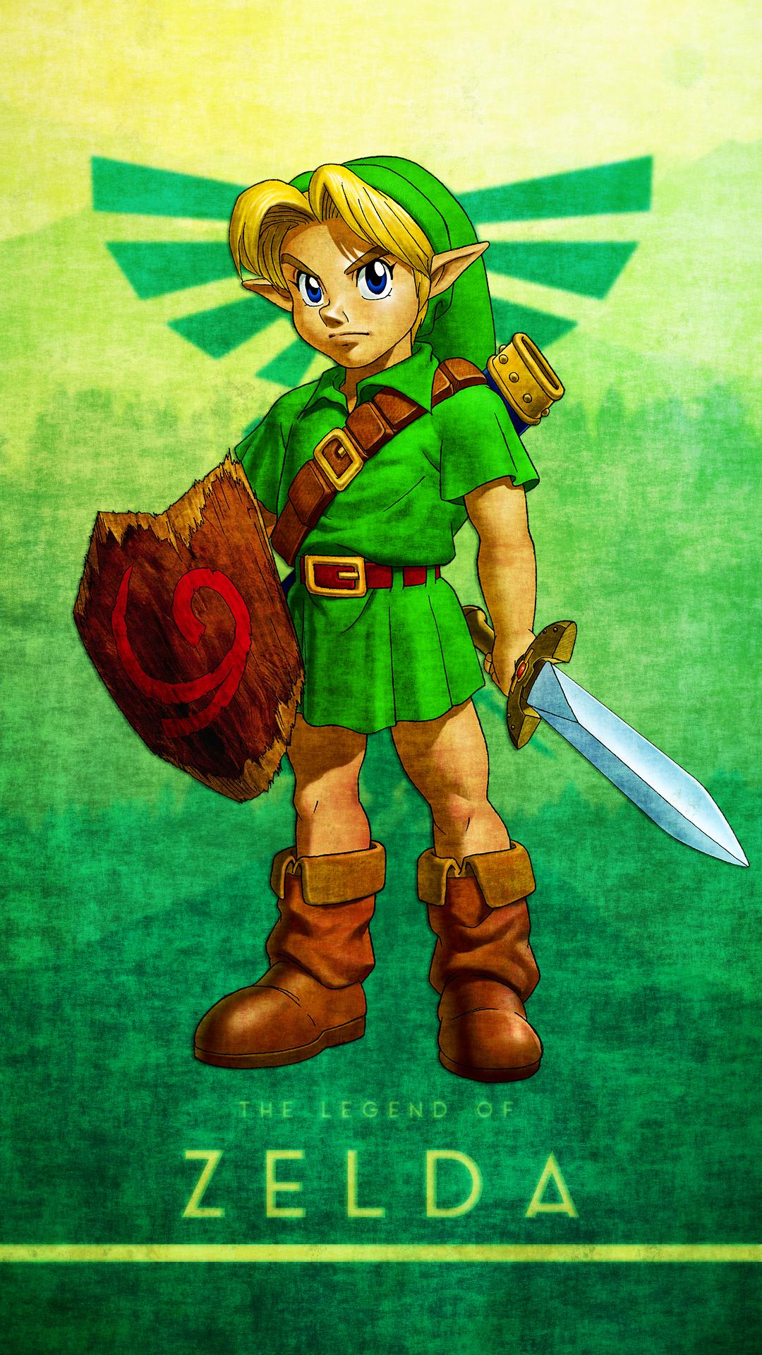 Free Hd Legend Of Zelda Phone Wallpaper1072