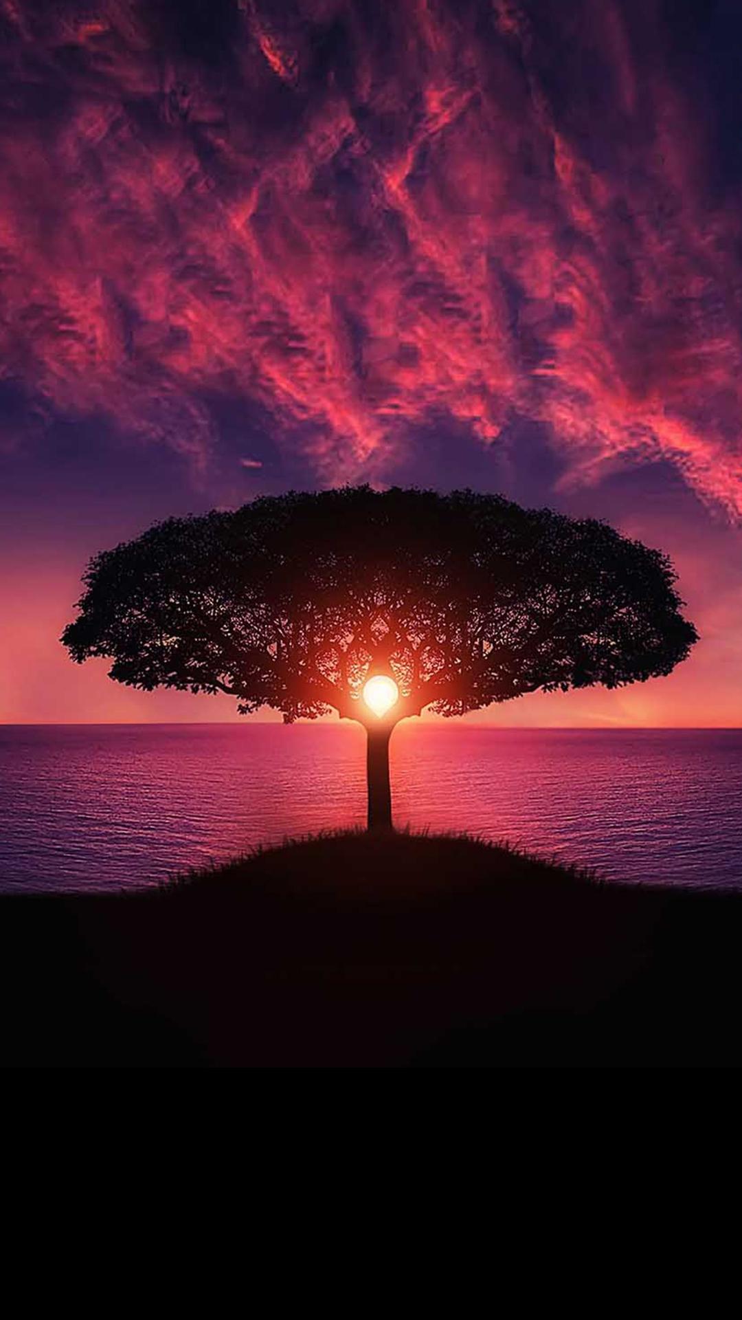 free hd magic sunset phone wallpaper4587