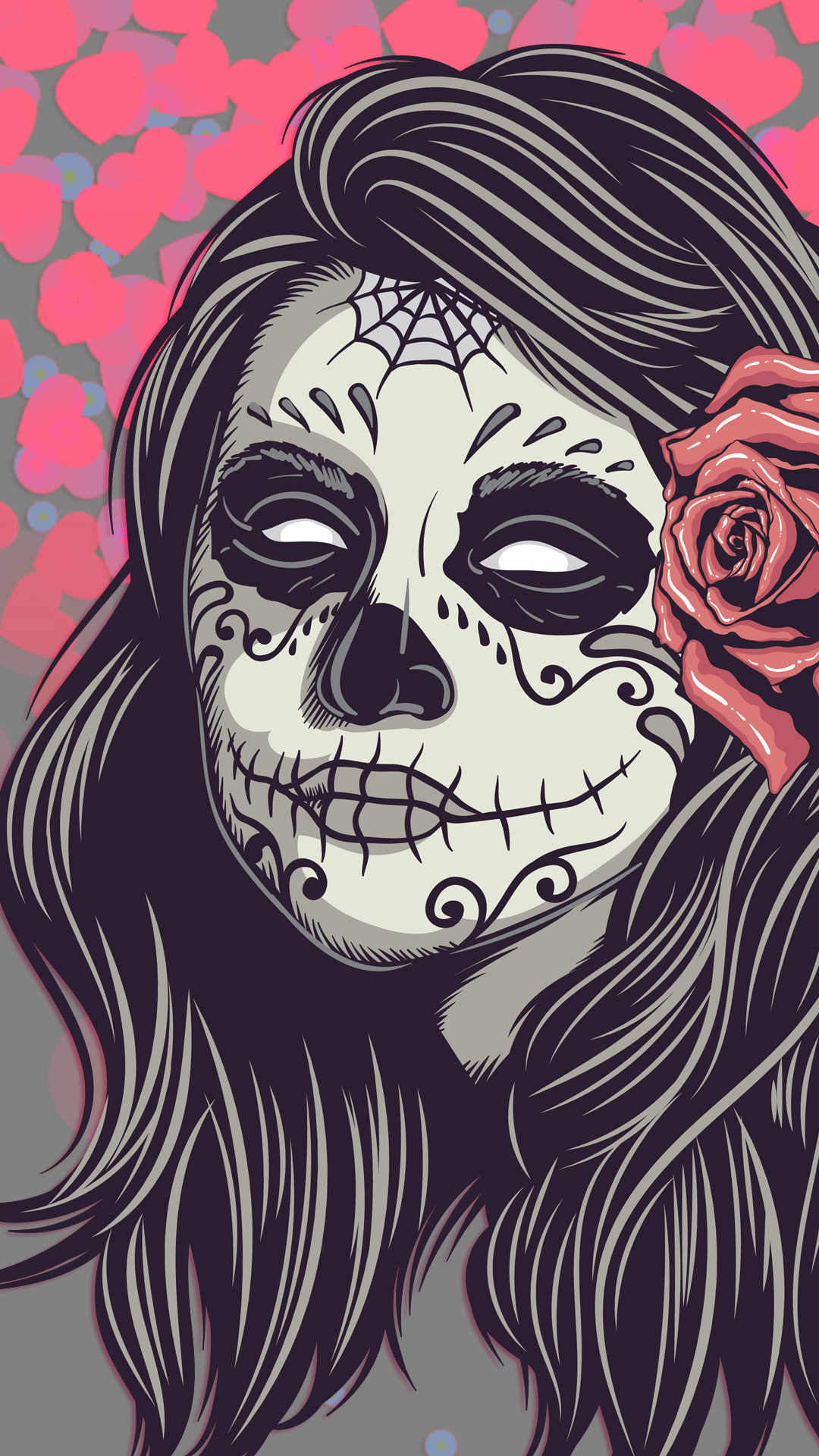 Free hd mexican girl skull phone wallpaper2303 mexican girl skull phone wallpaper voltagebd Gallery