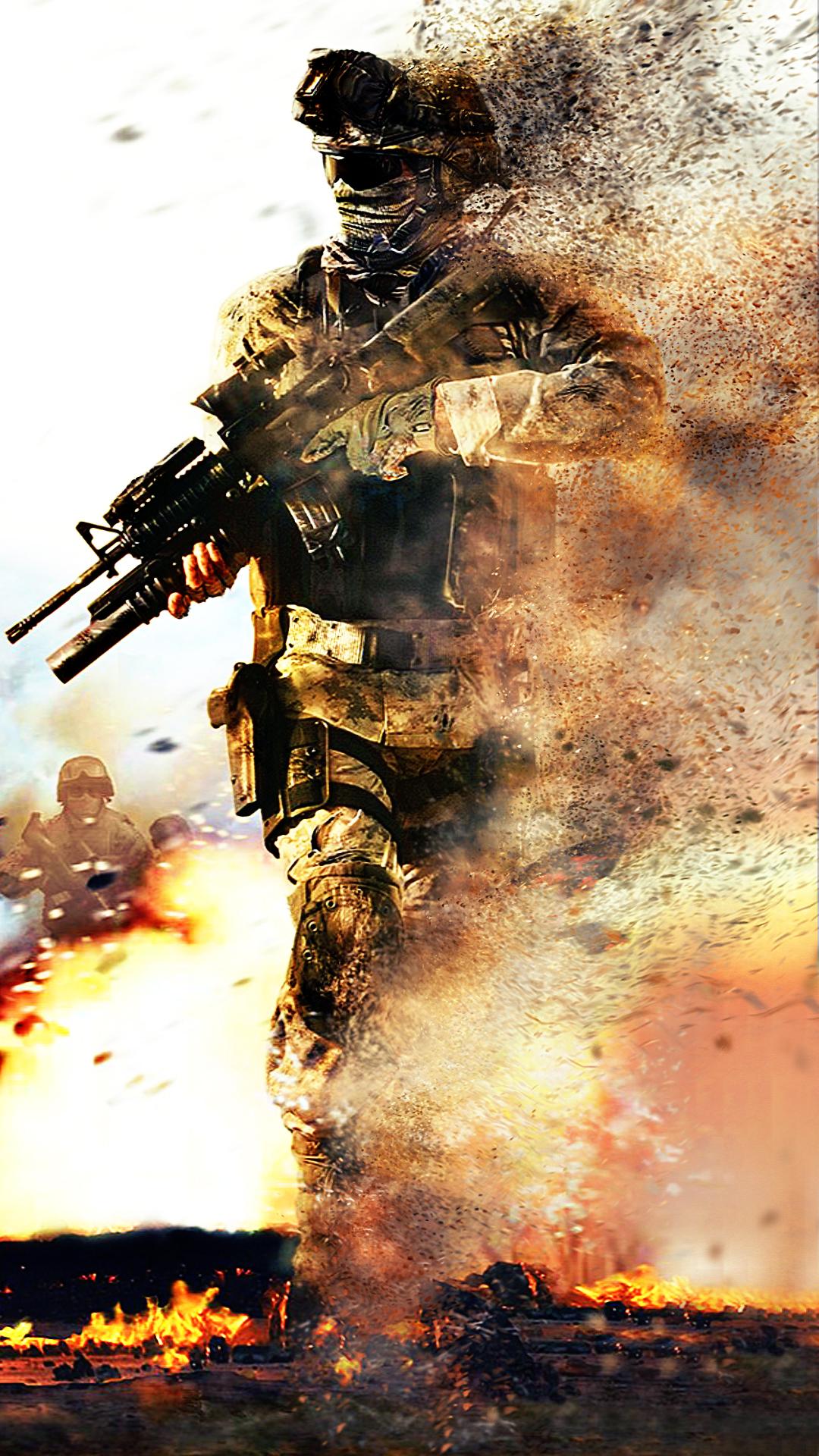 Modern Warfare Phone Wallpaper
