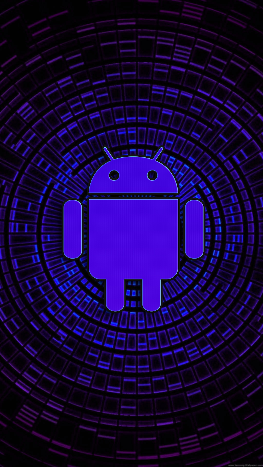 Download Purple Android Phone Wallpaper