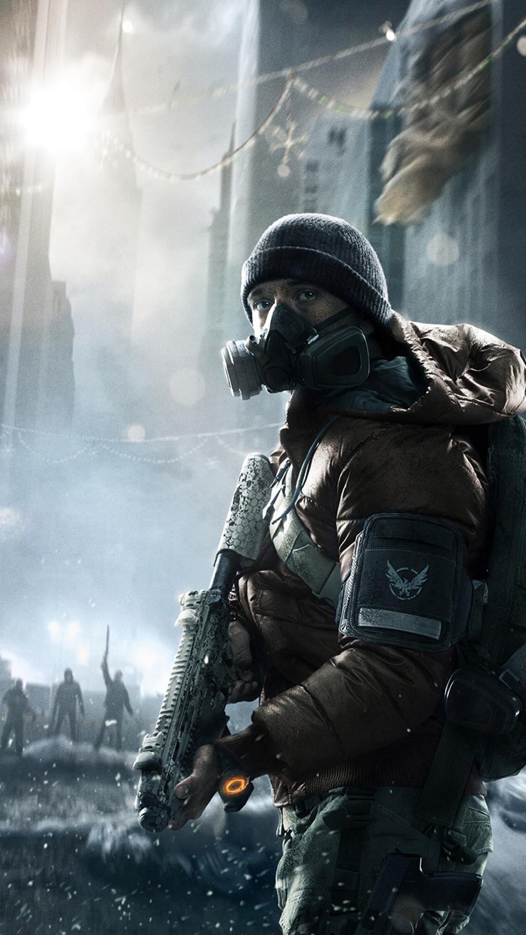 Download The Division Phone Wallpaper