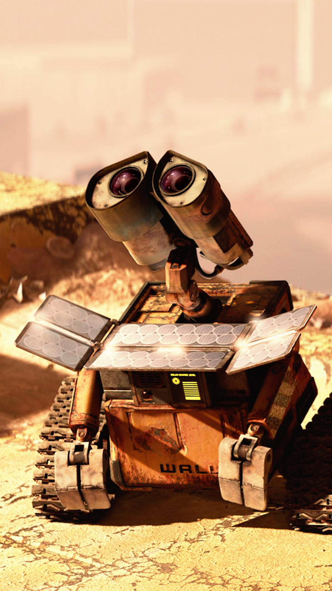 free hd wall e phone wallpaper1124