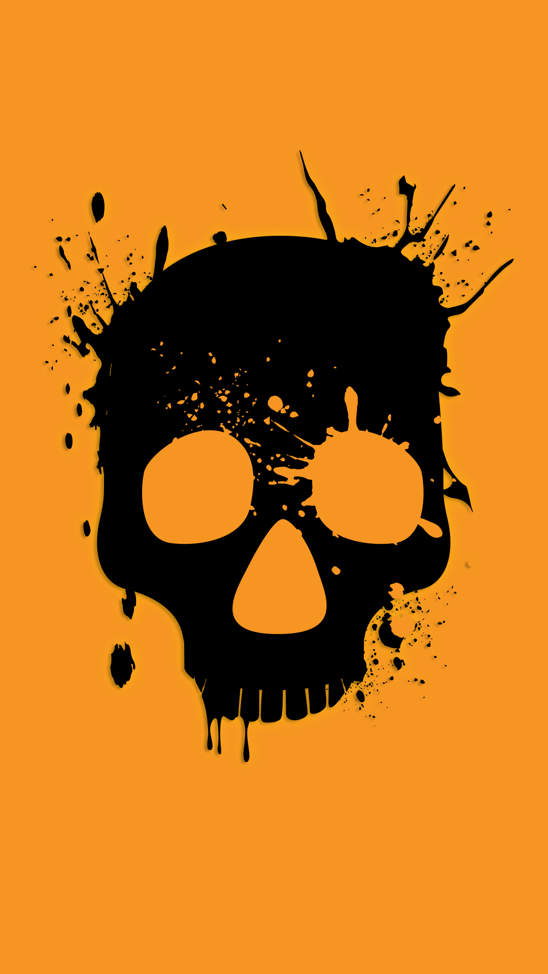 Download  C2 B7 Wasted Skull Phone Wallpaper