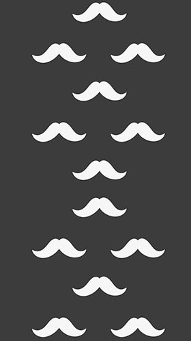 Mustache Phone Wallpaper