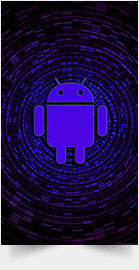 Purple Android
